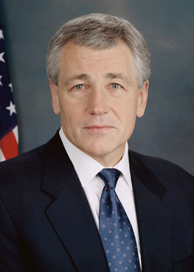 Chuck Hagel SC Hagel vows budget cuts won't erode US military