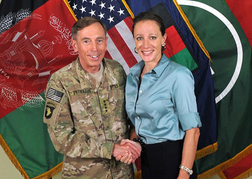 General Petraeus and Paula Broadwell SC