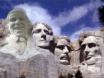 Mount Rushmore, Obama