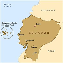 Ecuador Map SC