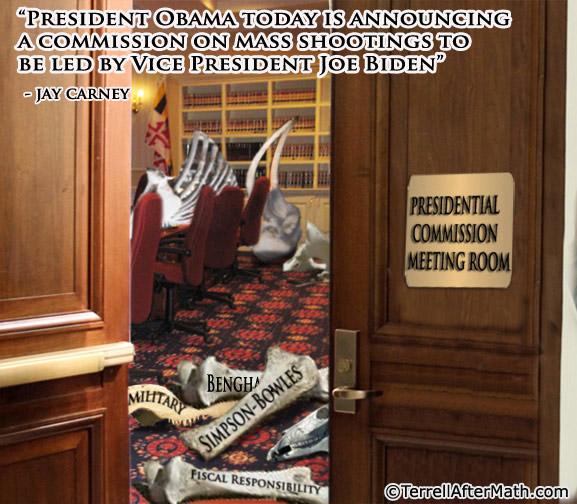 Obama Boneyard Gun Control Commission SC