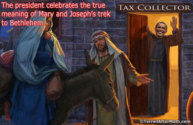 Obama Tax Collector Christmas SC