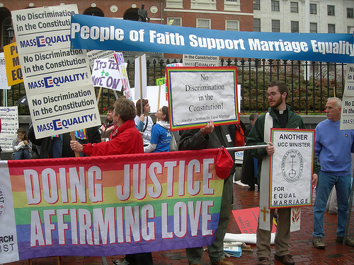 Gay Protest SC Gay Marriage Is Not God's Marriage