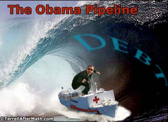 Obama Debt Pipeline Surfer SC