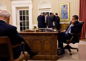 Obama calls Mubarak Oval Office Jan 2011 300x213 IRS Scandal Reaches the White House