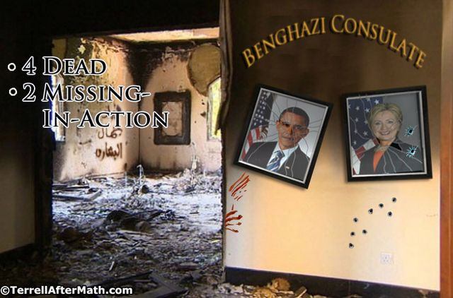 Benghazi MIA Obama Hillary SC Obama's Dismal Failure on the World Stage