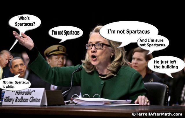 Hillary Spartacus Not Obama SC