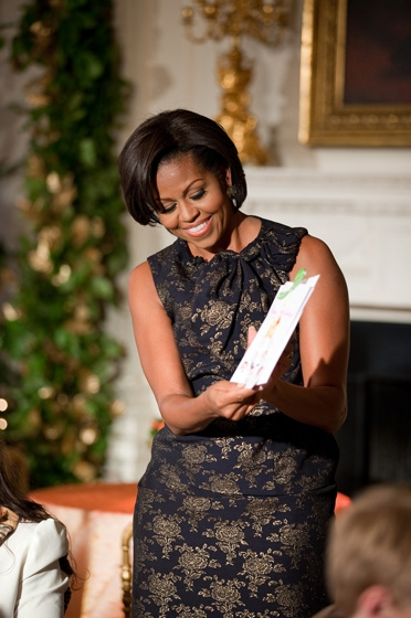 Michelle Obama 2 SC Michelle Obama's Farmer's Market Resorts to Fat, Sugar, and Salt for Sales