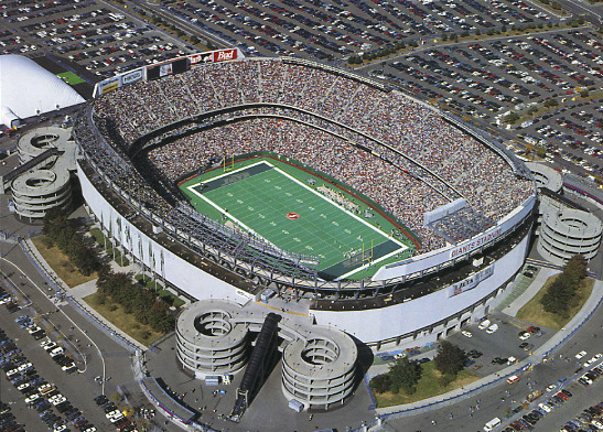 NFL Stadium aerial