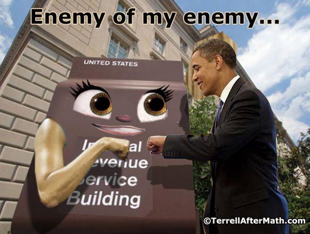Obama IRS Fist Bump SC