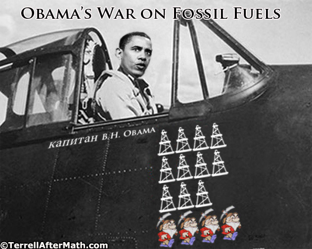 Obamas War On Fossil Fuels SC Obamas Secret Mission is Bankrupting Americans