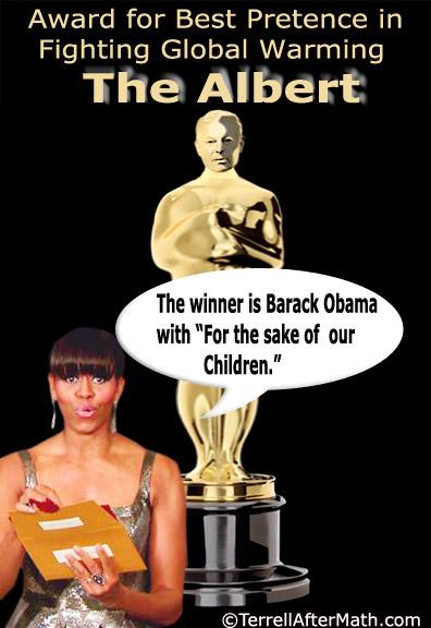 Prince Al Gore Oscar Global Warming Obama SC