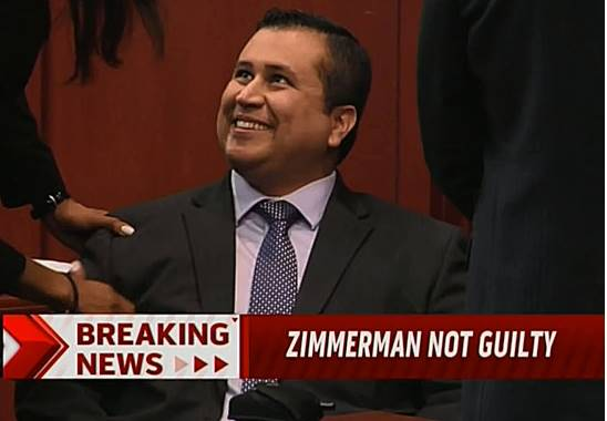 notguilty Jury finds George Zimmerman not guilty