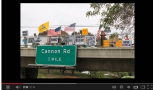 overpasses 300x177 Armed assailants target anti Obama protesters