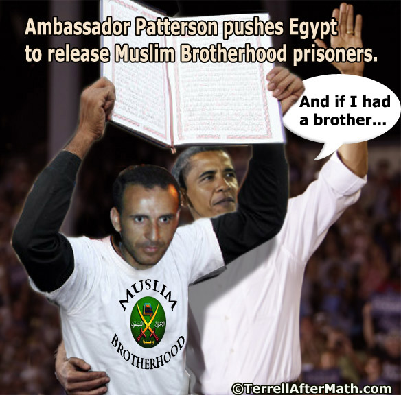 Obama Brother Muslim Brotherhood Ambassador Patterson Egypt SC AMERICA IN CRISIS: Impeach, Charge Treason, or Actively Resist