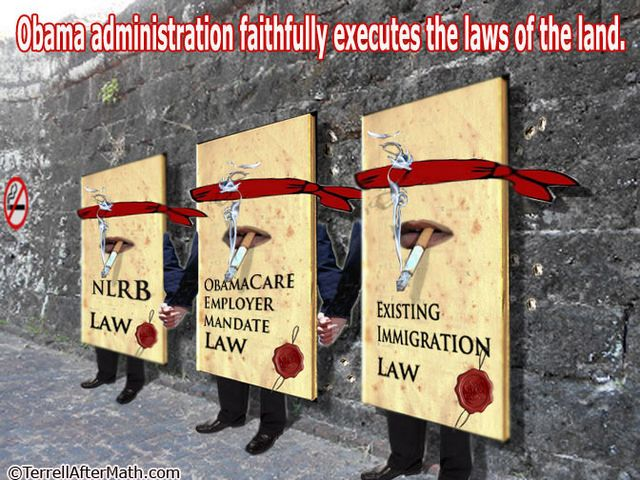 Obama Executes Laws Of Land Firing Squad SC A Phony President
