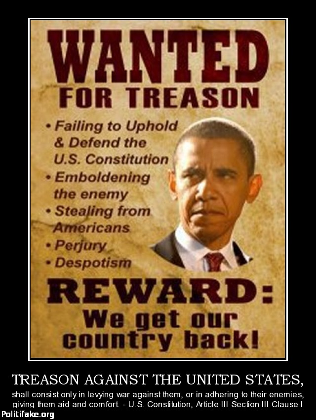 Obama for treason