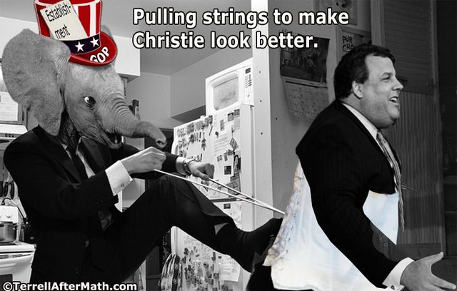 GOP Christie Pulling Strings Establishment SC