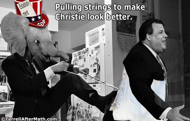 GOP Christie Pulling Strings Establishment SC