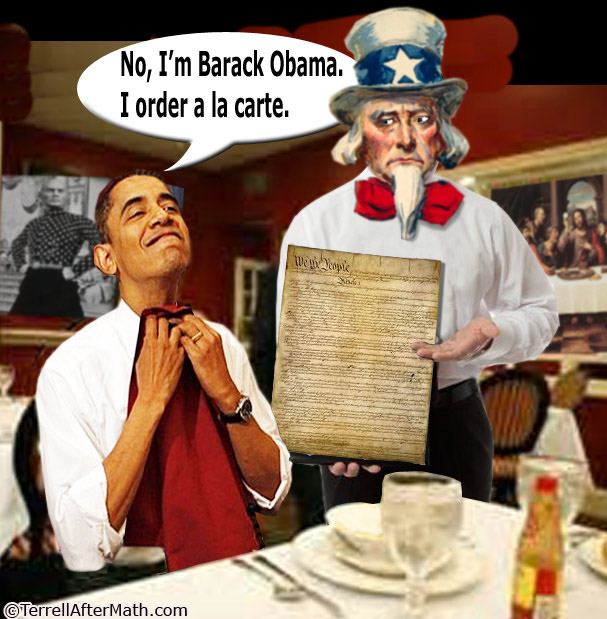 Obama Constitution A La Carte SC Red Line! What Red Line?