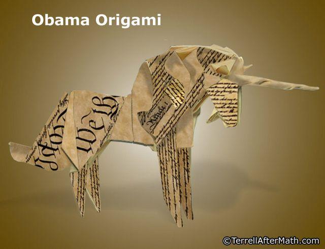 Obama Origami Constitution SC