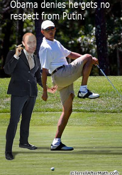 Obama Putin No Respect SC