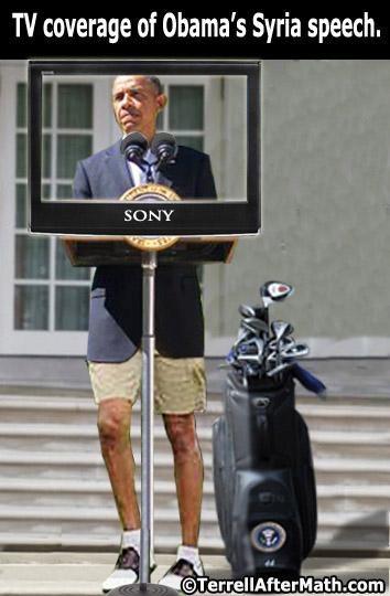Obama Syria Speech SC