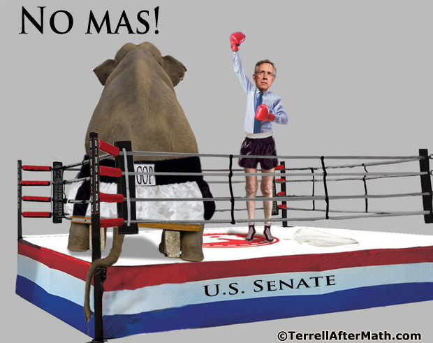 Harry Reid GOP Senate No Mas SC