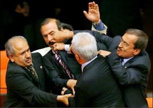 Legislative Fist Fight