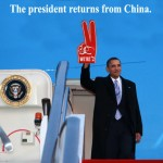 Obama Returns From China SC