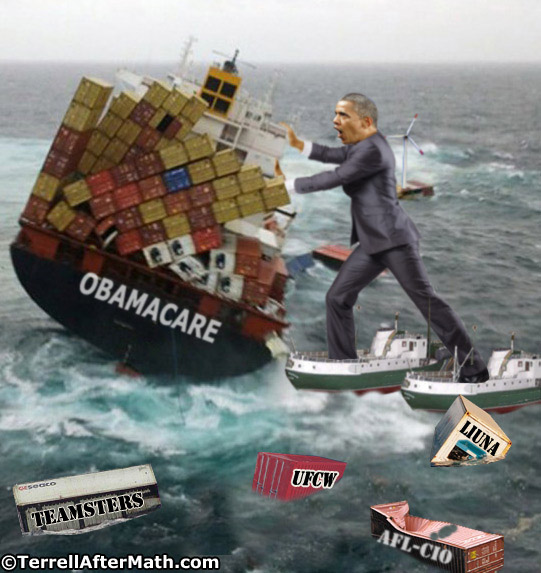 Obamacare Unions Obama SC