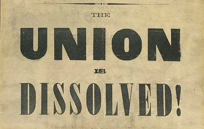 Union Dissolved