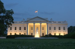 White_House at Dusk