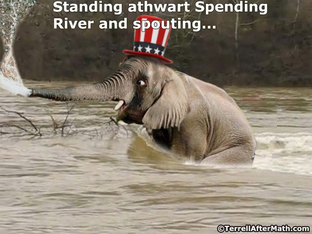 GOP Elephant Spending River SC