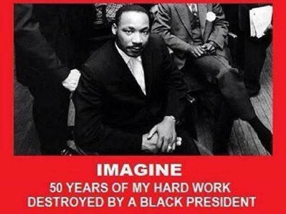 MLK Black President Destroyed Me