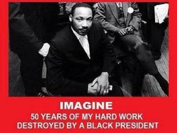 MLK Black President Destroyed Me