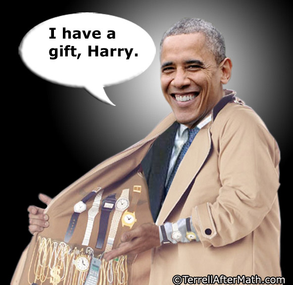 Obama Thief Harry Reid Gift SC