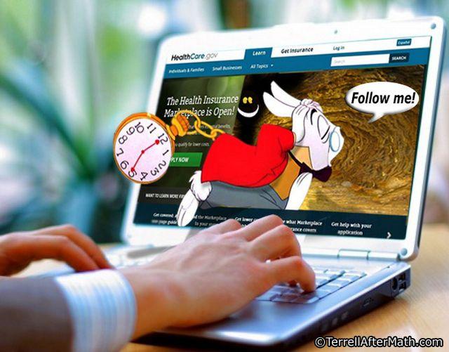 Obamacare Website Rabbit Hole SC