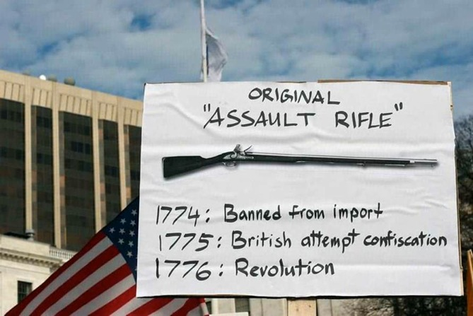 Original Assault Rifle 1774