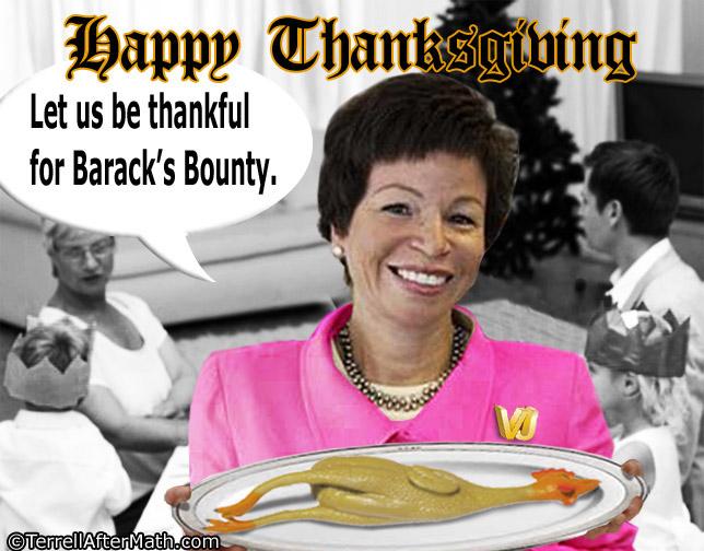 Valerie Jarrett Thanksgiving SC