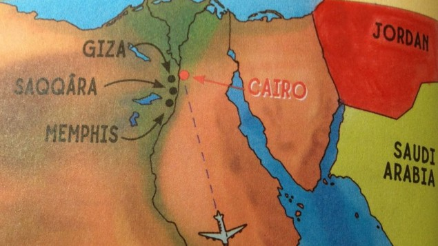 scholastic book map without israel