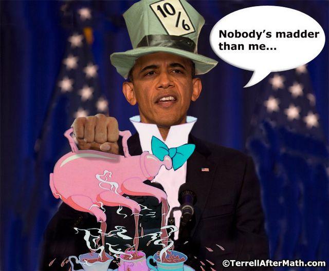 Obama Mad Hatter SC