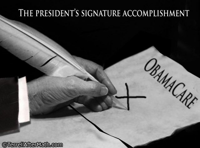 Obama Obamacare Signature Accomplishment