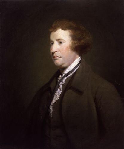 NPG 655,Edmund Burke,studio of Sir Joshua Reynolds