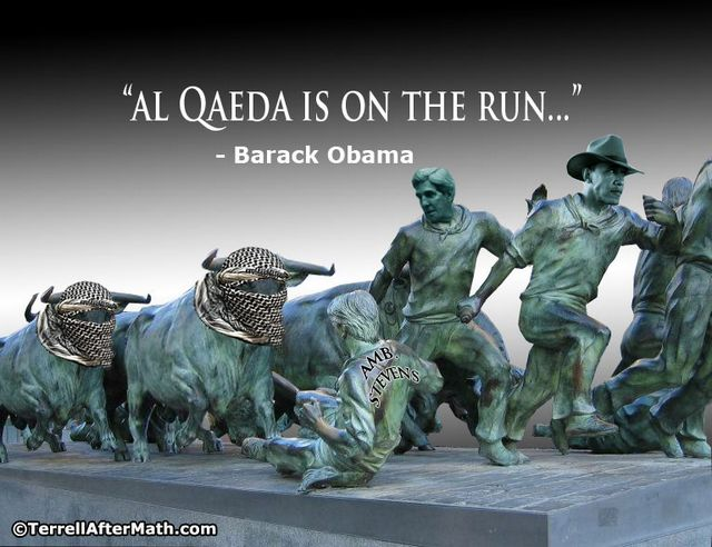 Al Qaeda Running Obama Chris Stevens SC