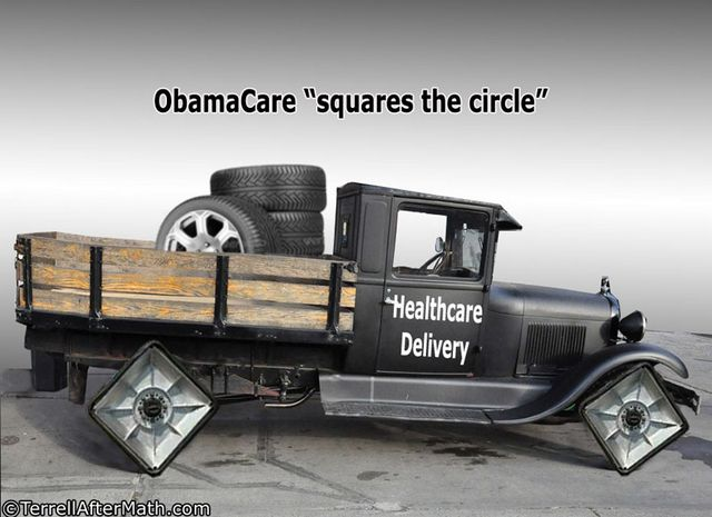 Obamacare Square Circle SC