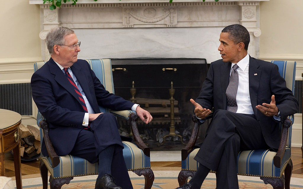 mcconnell obama
