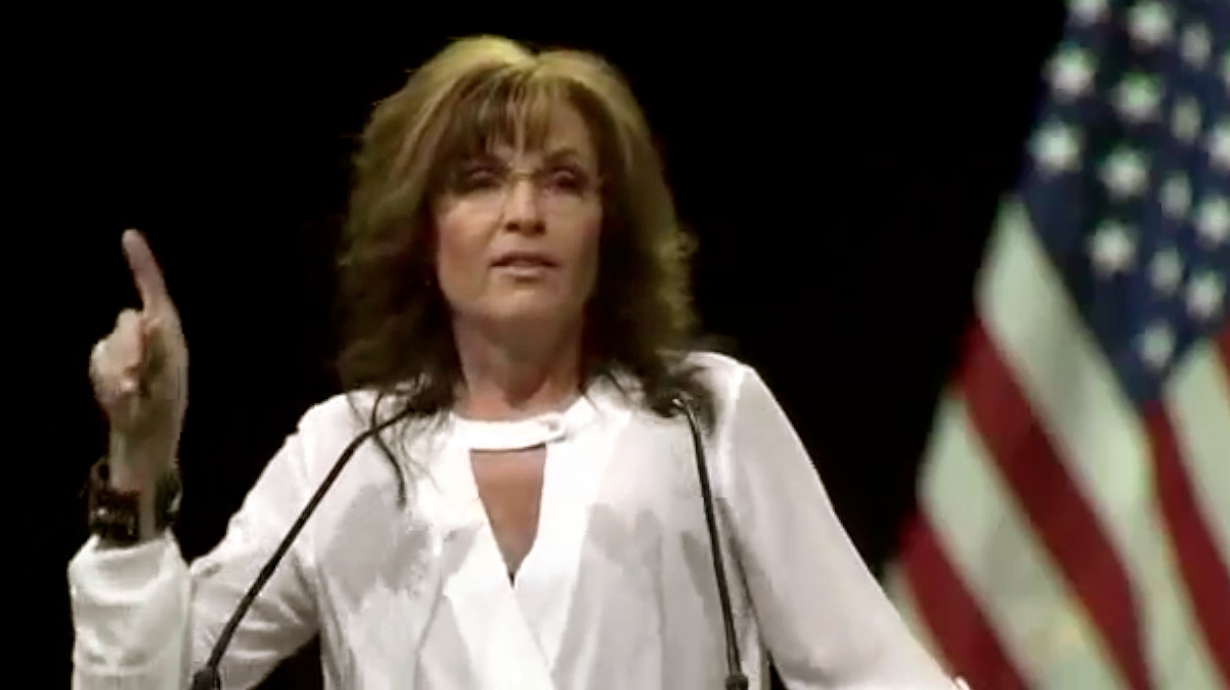 Sarah Palin at NRA