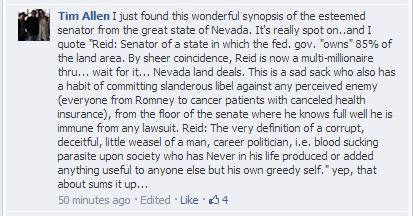 Facebook/Harry Reid