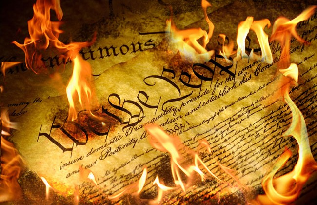 constitutionburning